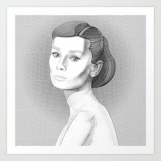 AudreyHepburn Art Print