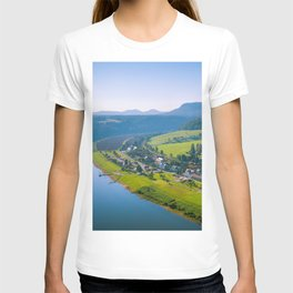 Rathen and the Elbe river T-shirt