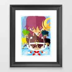 zodiac Framed Art Print
