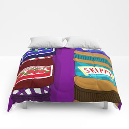 Sugar Crash No. 6: PB+J Comforters