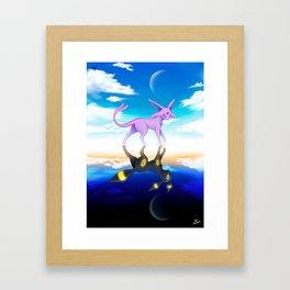 ESPEON & UMBREON Framed Art Print