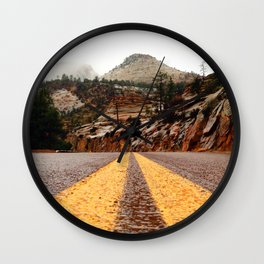 """The Road"" Wall Clock"