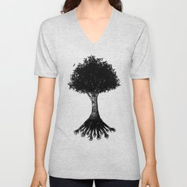 The Root Unisex V-Neck