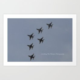 Fighter jets Art Print