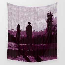 Watching the Refinery Wall Tapestry