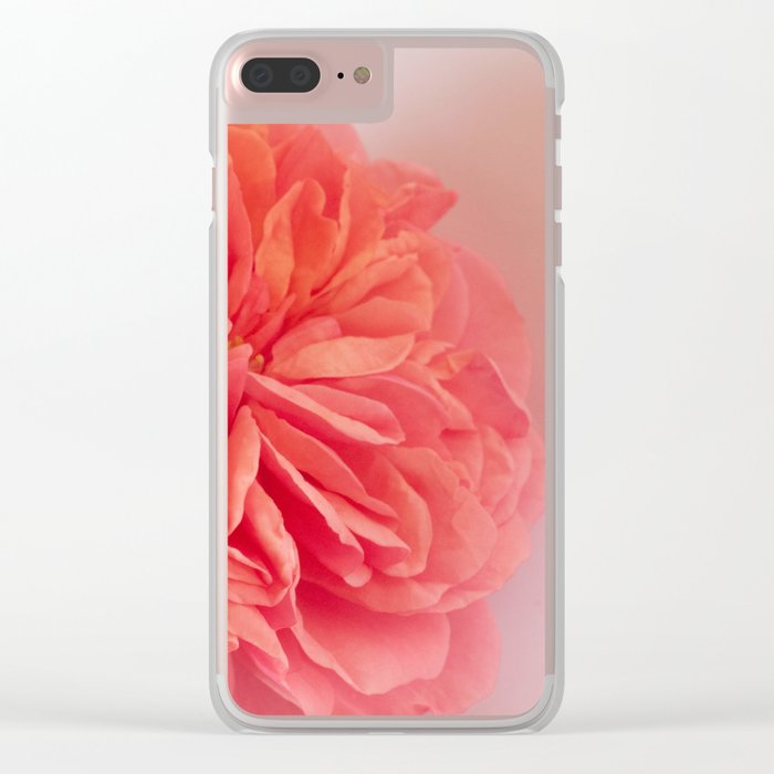 A Touch of Love - Pink Rose #2 #art #society6 Clear iPhone Case