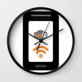eye fi Wall Clock