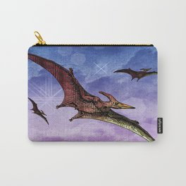 Flying Pterodactyls in the Sky Carry-All Pouch