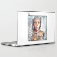 "cassia beck Laptop & iPad Skins featuring ""Froza"" by MiaSnow and Trindolyn Beck by Trindolyn Beck"