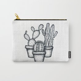 Mini Cactus Carry-All Pouch