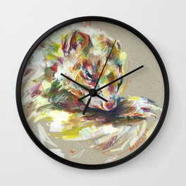 Ferret IV Wall Clock