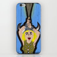 dungeons and dragons iPhone & iPod Skins featuring DUNGEONS & DRAGONS - BOBBY by Zorio