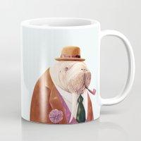 walrus Mugs featuring Walrus by Animal Crew