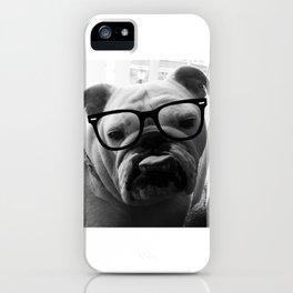 Hipster Matilda iPhone Case