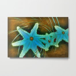 Spin on a Star Metal Print