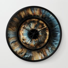 """WWP°282 """"Storm Of The Eye"""" Wall Clock"""