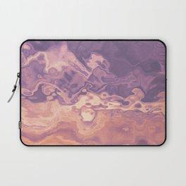 Gold violet pattern Laptop Sleeve