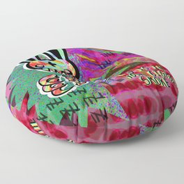 Organ Grinder Floor Pillow