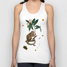 Monkey World: Amber-Ella Unisex Tank Top