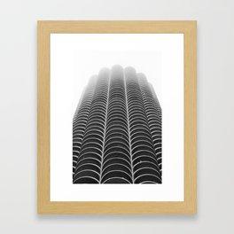 Foggy Chicago Morning 005 Framed Art Print