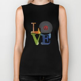 Love is Music Biker Tank