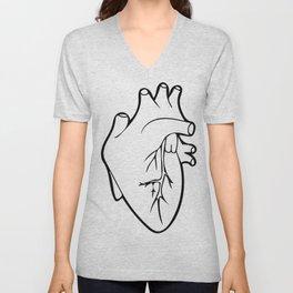 Be Still My Heart Unisex V-Neck