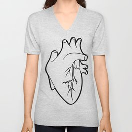 Be Still My Heart Unisex V-Neck