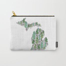 Michigan Forest Carry-All Pouch