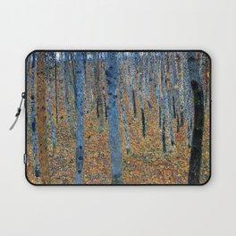 Gustav Klimt - Beech Grove I  (new color rendition) Laptop Sleeve