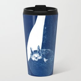 Fox in a burrow Travel Mug