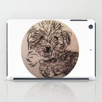 poodle iPad Cases featuring poodle by The Traveling Catburys