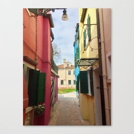 Been There, Shot That (Pt. 7 – Burano, Italy) Canvas Print