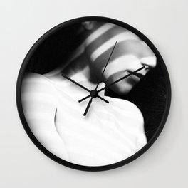 Amber Wall Clock