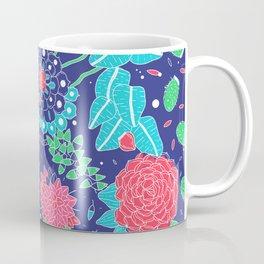 Flowers and Cactus Coffee Mug
