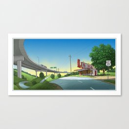 BYPASSED Canvas Print