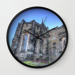 St Margaret's Chapel Edinburgh Castle Wall Clock