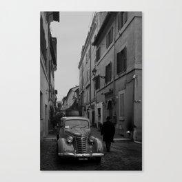 Sunday Morning Italian Remix Canvas Print