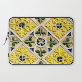 Portuguese azulejos Laptop Sleeve