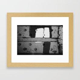 Roshach Test #13 Framed Art Print