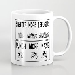 Shelter More Refugees Coffee Mug