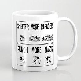 Shelter More Refugees Coffee Mug