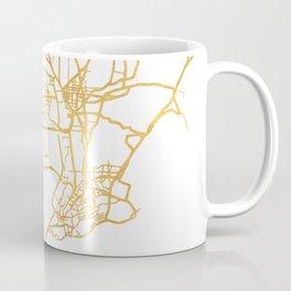 QINGDAO CHINA CITY STREET MAP ART Coffee Mug