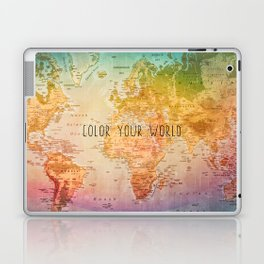 Color your World Laptop & iPad Skin