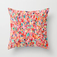 wings Throw Pillows featuring Wings by Verismaya