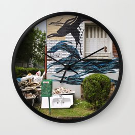 3-5 Fulton la Wall Clock