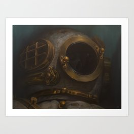 Deep-Sea Demise Art Print