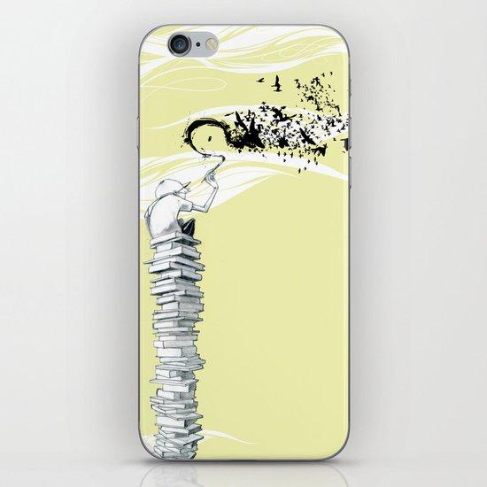 "Glue Network Print Series ""Education & Arts"" iPhone & iPod Skin"