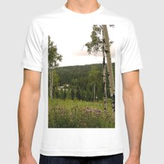 Spring in WaterValley Mens Fitted Tee White MEDIUM