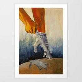 Exchange- Fullness for Emptiness Art Print