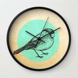 Spotted bird Wall Clock